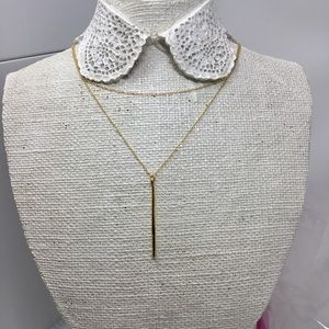 Gorjana Jewelry - Gorjana Taner Dagger Pendant Necklace
